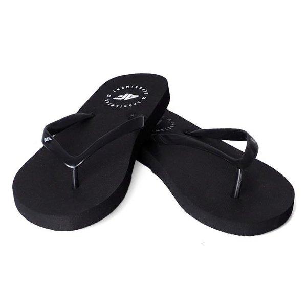 4F - Sportswear Flip Flops - Zehentrenner - schwarz