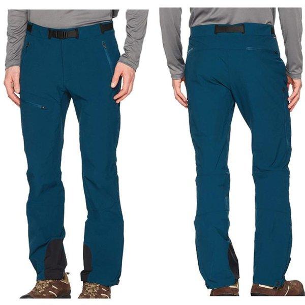Vaude Men 's Hose Badile Pants II Softshell Outdoorhose, petrol 50/M