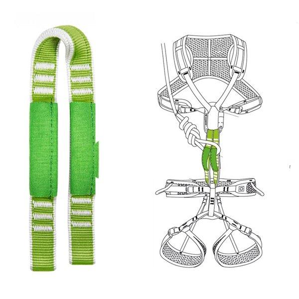 OCUN - genähte Einbindeschlinge - die sicherste Verbindung zwischen Sitz- und Brustgurt