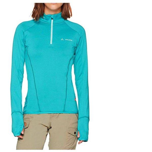 Vaude - Damen Sportpullover LONGZIP Longshirt Fleece - grün - 42/L