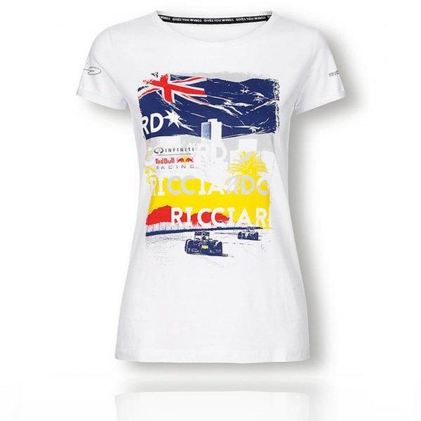 Red Bull - Driver T-Shirt - Damen Shirt - weiß