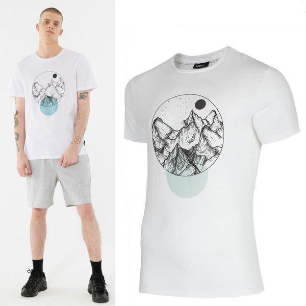 Outhorn - Berge - Herren T-Shirt - weiß