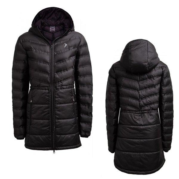 Outhorn - Quilted Coat - Damen Parka - schwarz
