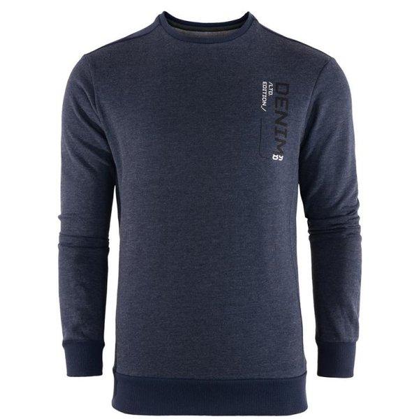 Triangle Cuff Comfy - Herren Komfort Pullover - navy