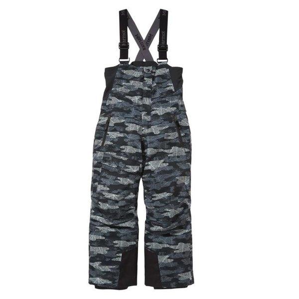 Marmot - Rosco Bib - Kinder Skihose - schwarz mit Muster