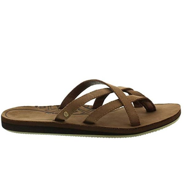 Teva Olowahu Leather W's Damen Sport- & Outdoor Sandalen - EU 37