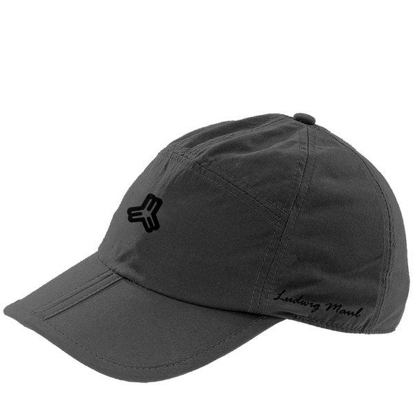 Maul - klappbare Outdoor Schildmütze - PORTS Faltcap - schwarz
