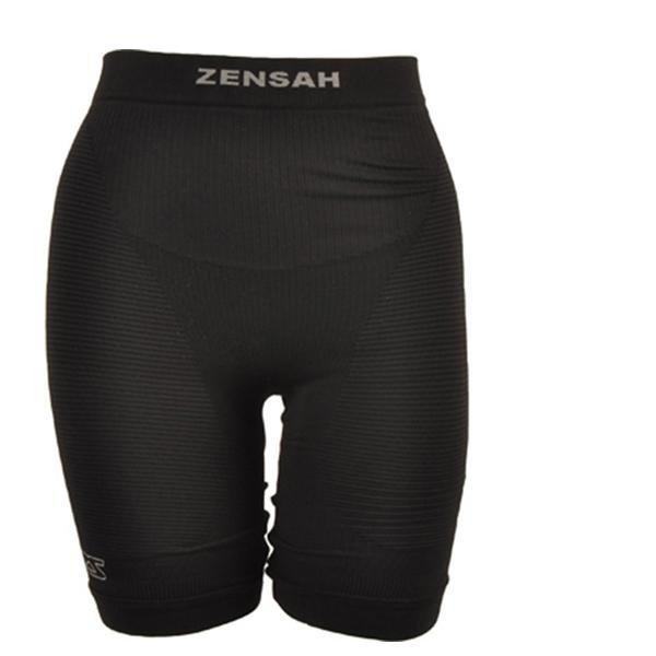 Zensah - Kompression Short - Damen Laufshort - shwarz-34/XS