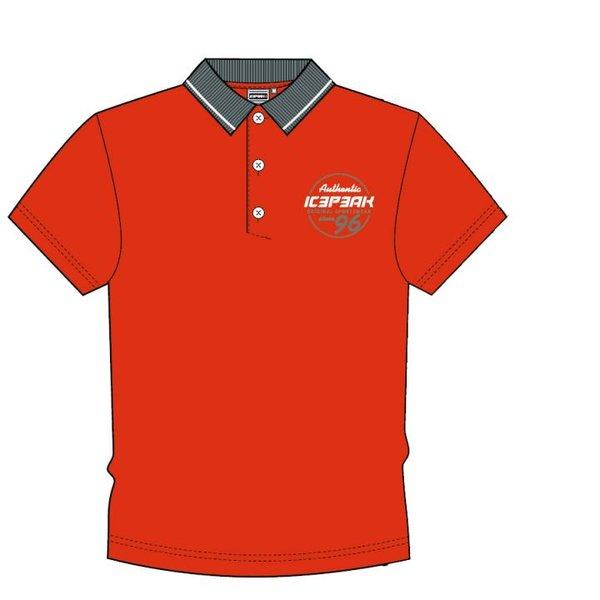 Icepeak - Poloshirt 2019 - Herren Polo-Shirt - rot