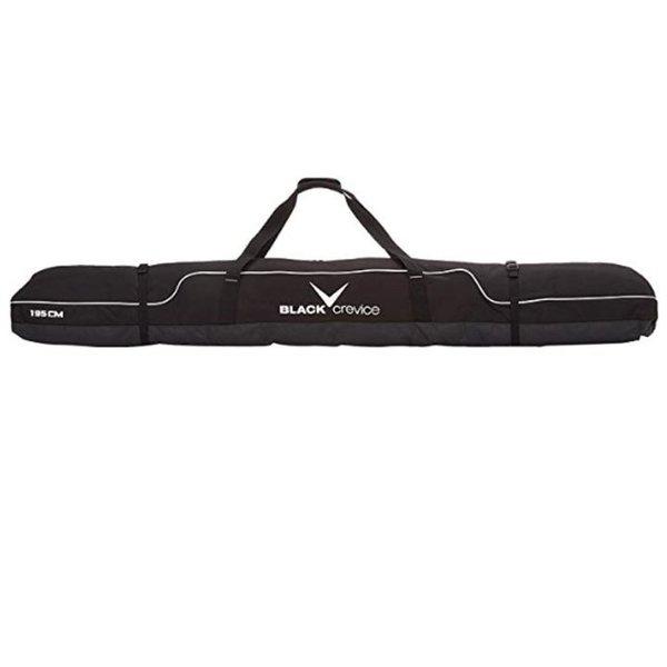 BLACK CREVICE - Skibag 2020 - lange Marken Skitasche 195 x 20 x 20 cm