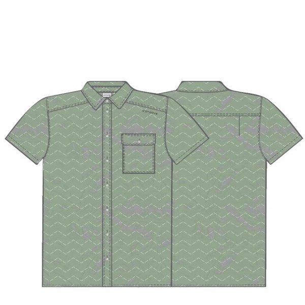 Icepeak - Outdoor Hemd - Herren Polo-Hemd - grün khakirot