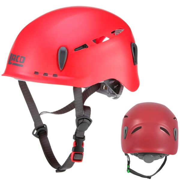 LACD - Protector 2.0 Kletterhelm - ideal für Klettersteige, rot