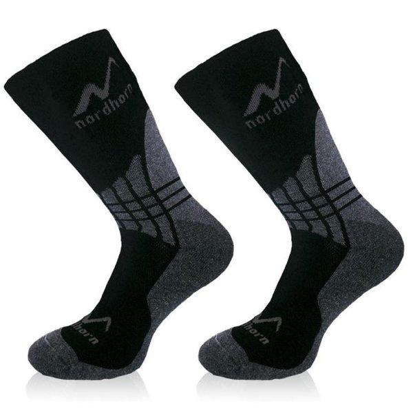 nordhorn - Profi Primaloft Outdoor- Ski- und Winter Socken - NH4P Special Socken - schwarz
