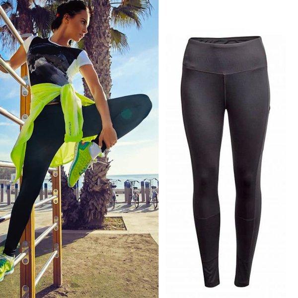 Outhorn - Damen Sport Leggings - schwarz