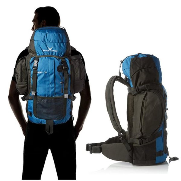 WYOMING - Outdoor Rucksack, 35 Liter, blau