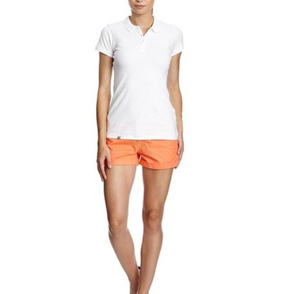 4F - Baumwollshort - Damen Short - koralle