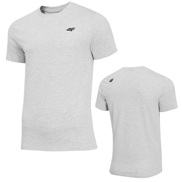 online retailer e2ee9 f32f3 4F - Herren Sport T-Shirt Baumwolle - grau
