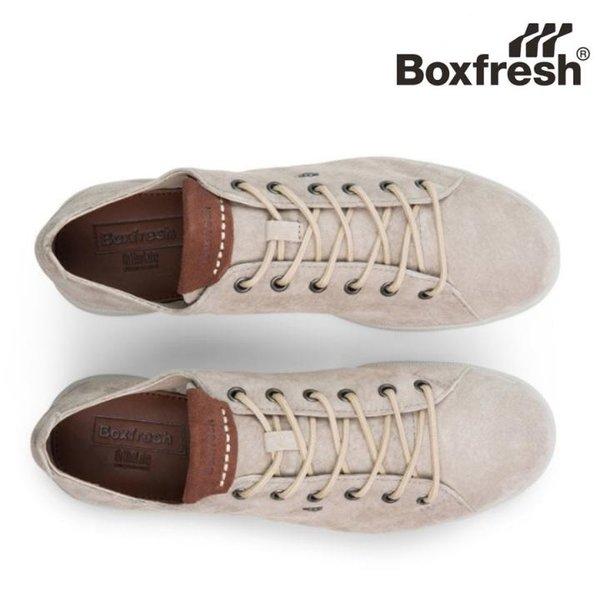 Boxfresh - Ianpar Leder Sneaker Freizeit-Schuhe, braun