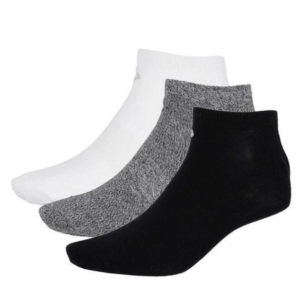 Outhorn - 2er Pack Sneakersocken - Freizeitsocken schwarz/grau/weiß