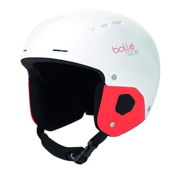 Bollé Quickster Skihelm - Winter Helm - weiß rot - 49-52
