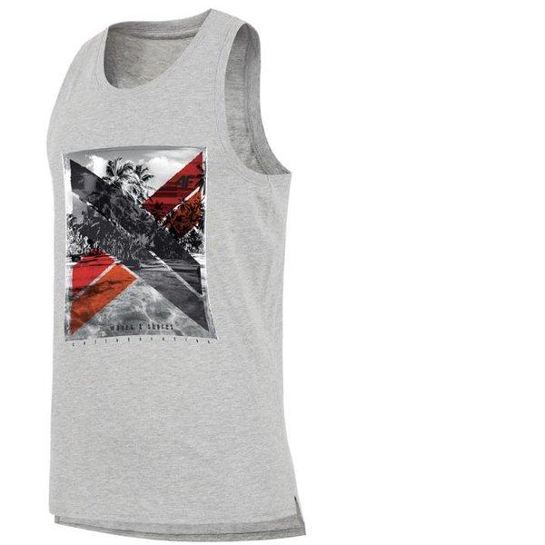 4F - SUMMER SHIRT 2019 - Herren Tank Top Shirt - Muskelshirt - grau