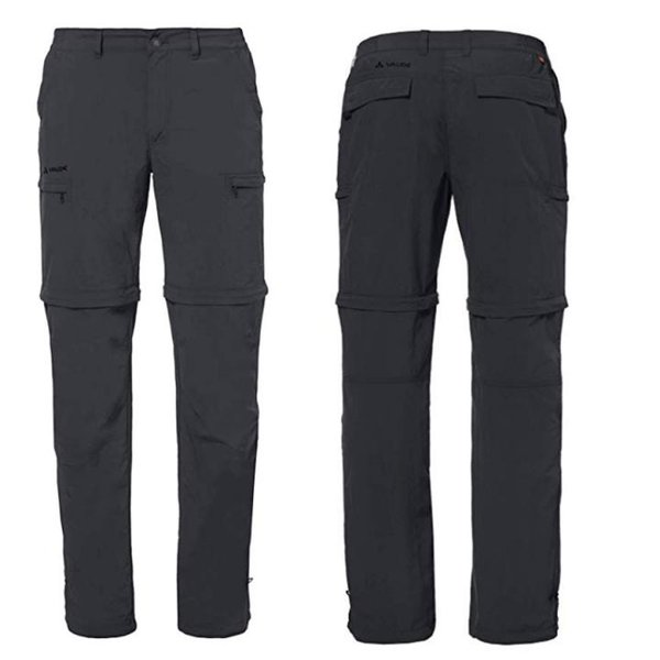 Vaude Farley ZO Pants Zip-Off Outdoor Hose - schwarz - 54/XL