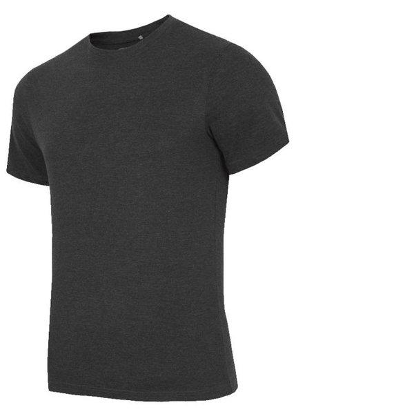 Everhill - Herren T-Shirt Baumwoll-Shirt - schwarz