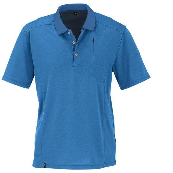 Maul - Gaigerkopf 2019 - Herren Funktions Polo-Shirt - blau melange