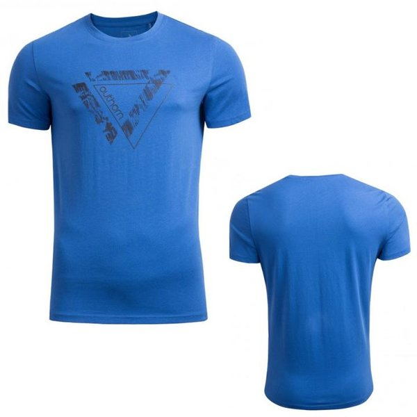Outhorn - Logo Baumwollshirt - Herren T-Shirt -blau
