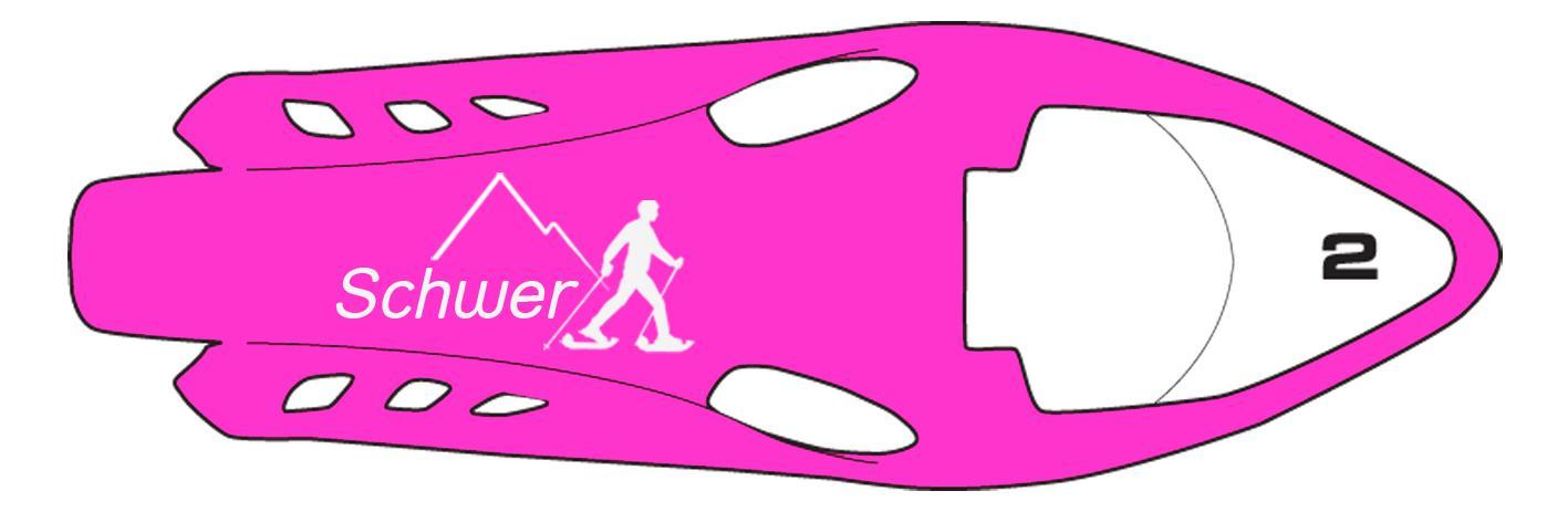schneeschuhprofi-routenschilder-pink-Schwer