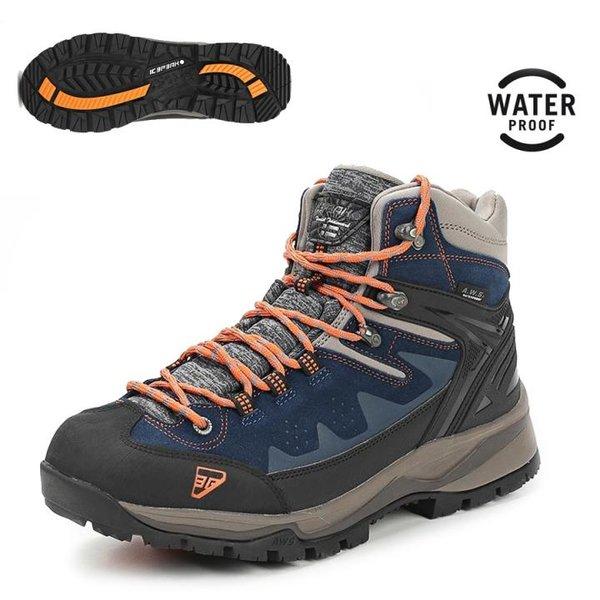 Icepeak - WYNNE MS Herren Outdoor Boots wasserdichte Winterschuhe - blau