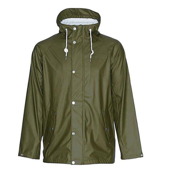 Tretorn - Sixten Rain Jacket - Herren Regenjacke - olivgrün