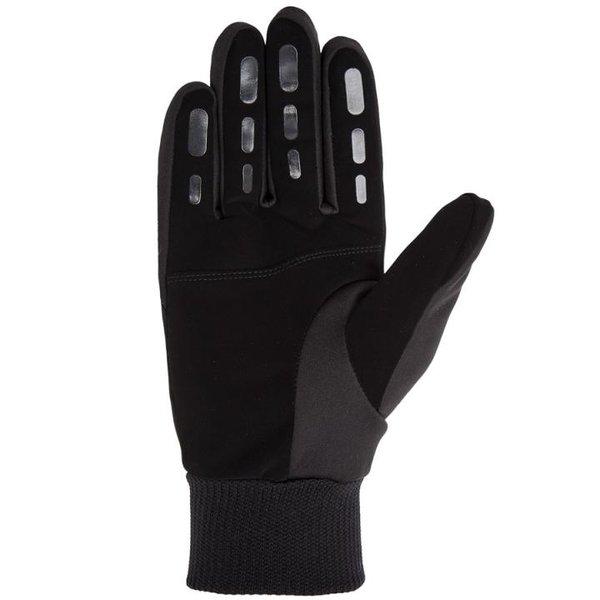 4F - dicke Softshell Thermofunktion Handschuhe - schwarz