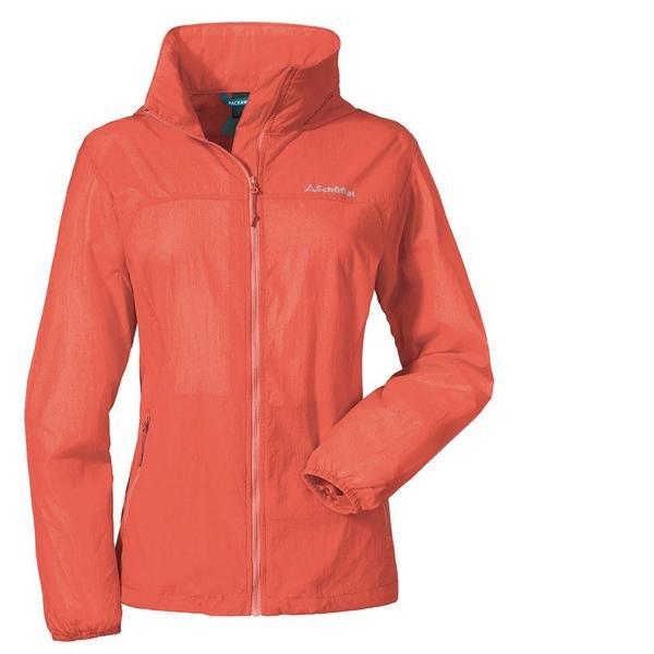 Schöffel Damen Windbreaker Jacket L1 Jacke - Sportjacke - emberglow - 46 XXL/3XL