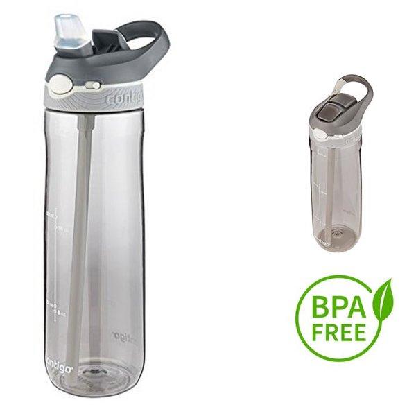 Contigo Trinkflasche Ashland Sport Fitness Flasche - 750ml - grau