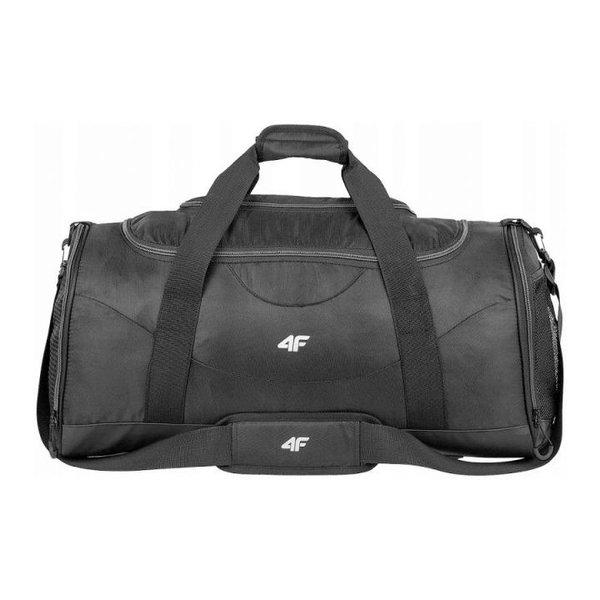 4F - Sporttasche 70L mit Schuhfach - schwarz