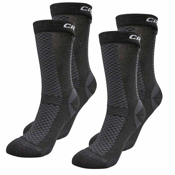 Craft - 2er Pack Socken - Sportsocken Merino - schwarz