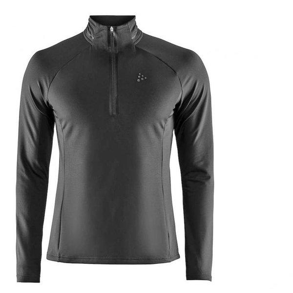 Craft - Prep Halfzip - Herren Langarmshirt - schwarz