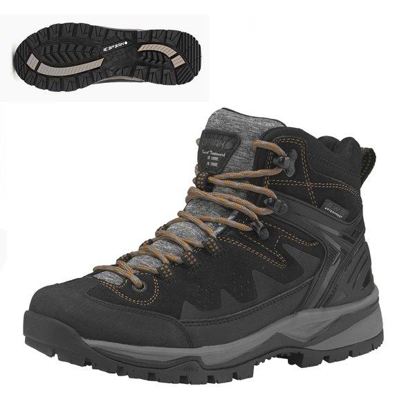 Icepeak - WYNNE MS Damen Outdoor Boots wasserdichte Winterschuhe - schwarz