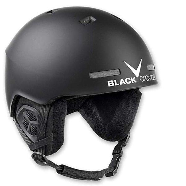 Black Crevice Erwachsene Skihelm Aspen Ski Helm, schwarz S/M 54-58 cm