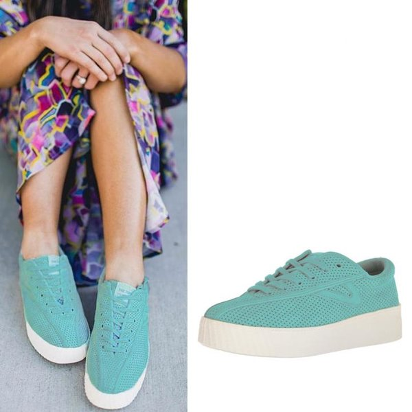 Tretorn - Nylite 3 bold - Damen Sneaker - jade