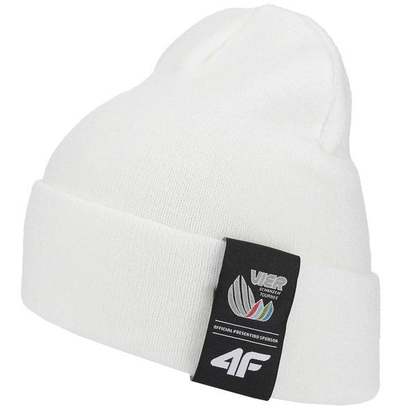 4F - Vierschanzentournee Kollektion - Wintermütze Garmisch - weiß