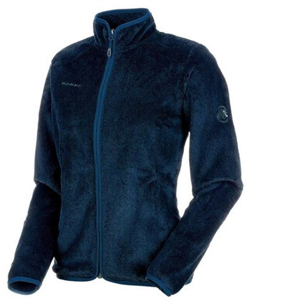 Mammut Damen Midlayer-Jacke Fleece 2nd Layer Jacke - navy - XL 42