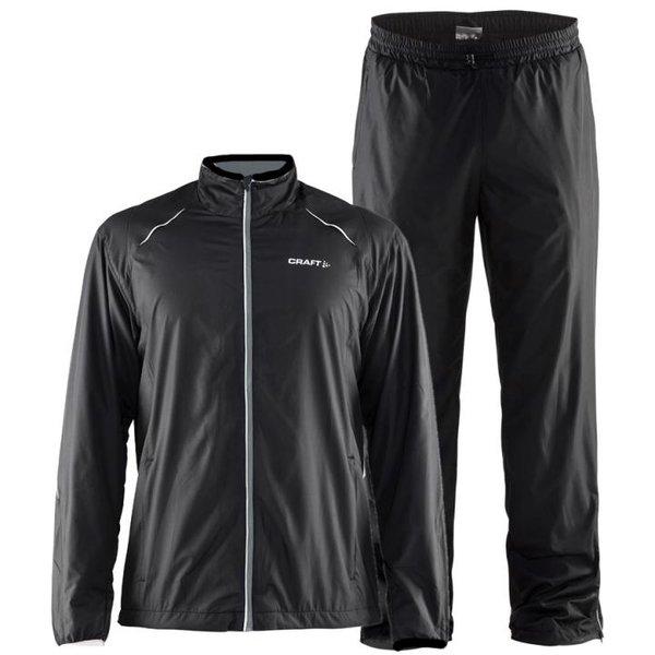 Craft - Prime WIND SET WMN - Damen Sport Komplett Set Hose und Jacke - schwarz