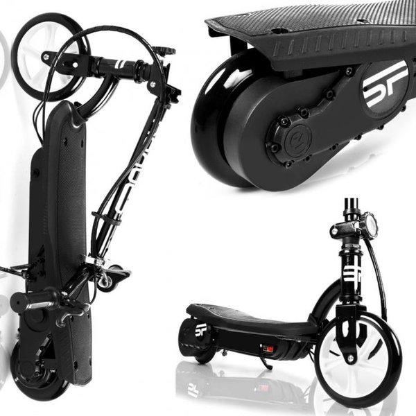 E-SCOOTER Spokey Altais - elektrischer Marken Roller mit 120W Motor - schwarz