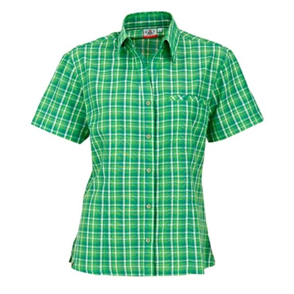 Maul - Sandnes - Damen Outdoor Bluse - grün/blau