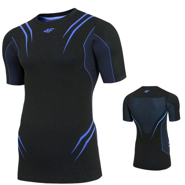 4F - Herren Funktions T-Shirt 2019 - schwarz blau