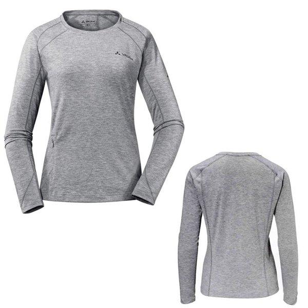 Vaude - Signpost LS Shirt - Damen Langarmshirt - grau