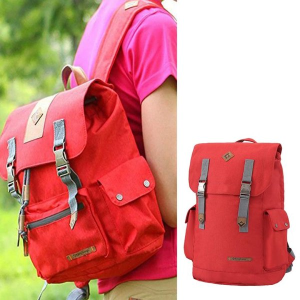 King Camp - Redwood Rucksack mit Laptopfach - 25 Liter - rot