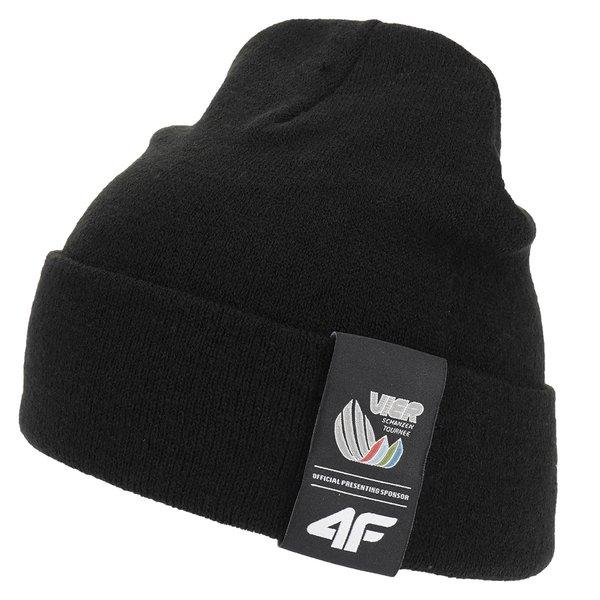 4F - Vierschanzentournee Kollektion - Wintermütze Garmisch - schwarz